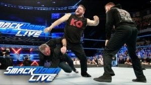 Video: Kevin Owens and Sami Zayn Brutally Attack Shane McMahon Smack Down Highlights WWE Live 13th March 2018